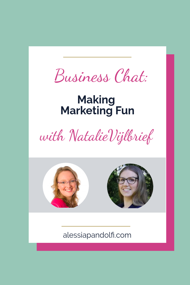 Learn from the experts: Natalie is a marketing expert and she's going to share with us how she makes marketing fun and easy even if you're an introvert online entrepreneur.
