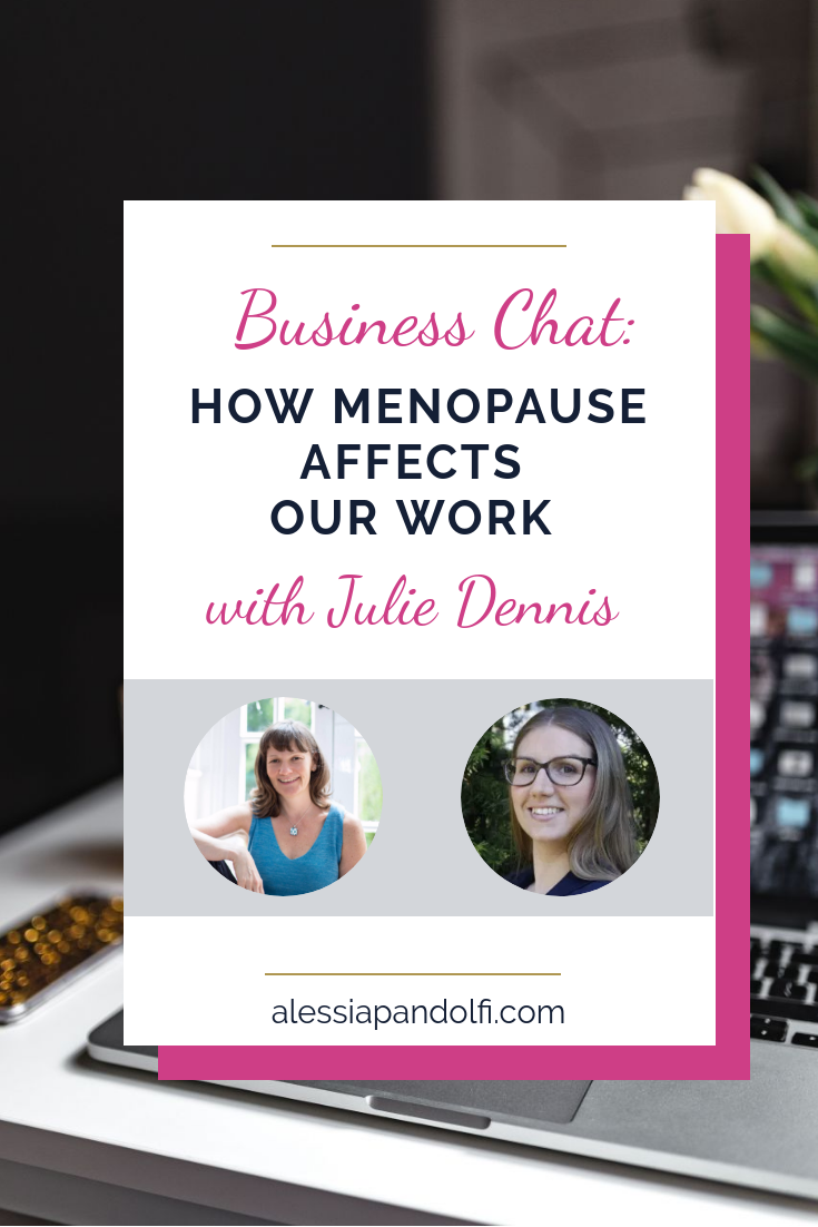 HOW MENOPAUSE AFFECTS OUR WORK
