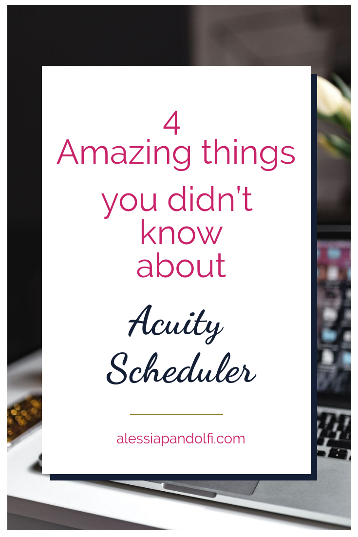 As an online coach you absolutely need to have a booking system in place for your sessions. Acuity Scheduler is one of the best tools out there, and it has some hidden gems aka awesome features that are little used but are extremely helpful.